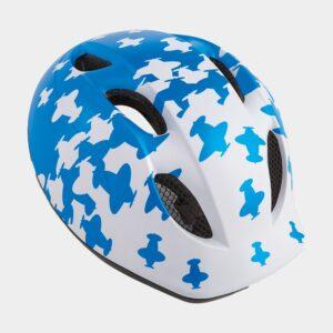 Cykelhjälm MET Buddy White Blue Airplanes/Matt, Universal (46 - 53 cm)