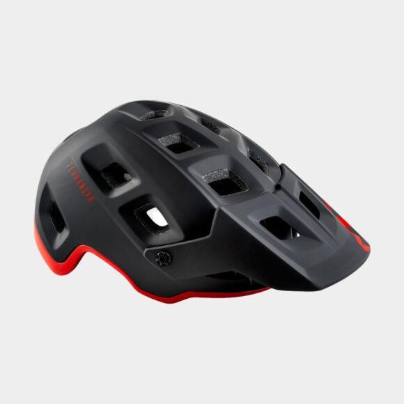 Cykelhjälm MET Terranova Black Red/Matt Glossy, Small (52 - 56 cm)