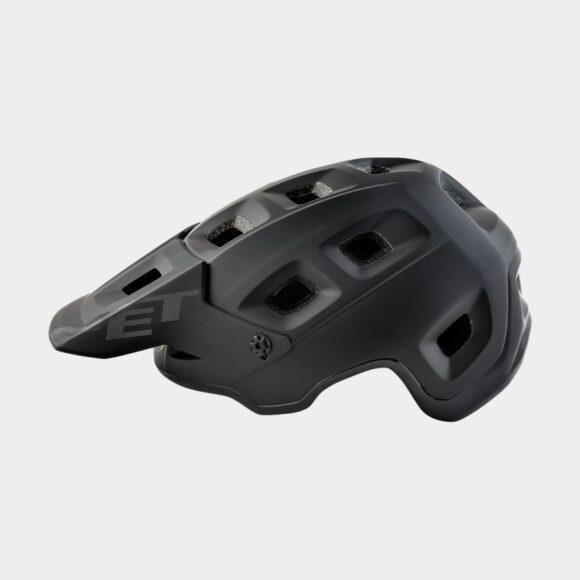 Cykelhjälm MET Terranova Black/Matt Glossy, Medium (56 - 58 cm)