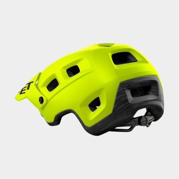 Cykelhjälm MET Terranova Lime Green/Matt, Medium (56 - 58 cm)