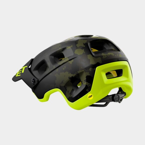 Cykelhjälm MET Terranova MIPS Camo Lime Green/Matt, Small (52 - 56 cm)
