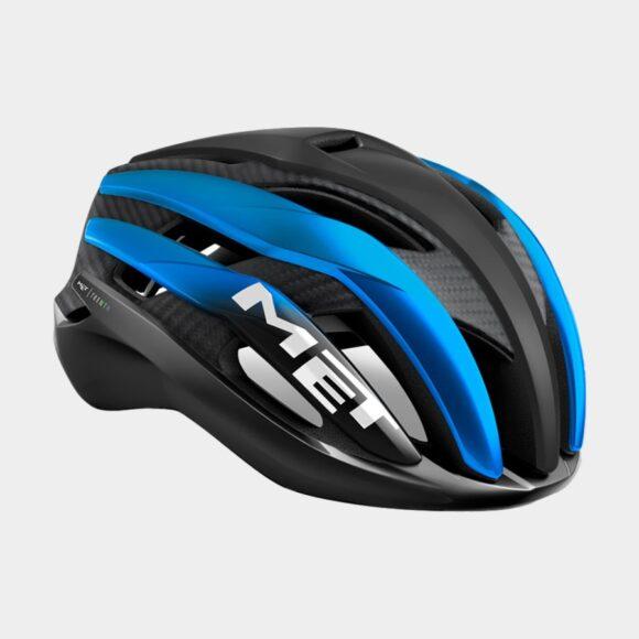 Cykelhjälm MET Trenta 3K Carbon Black Blue Metallic/Matt Glossy, Medium (56 - 58 cm)