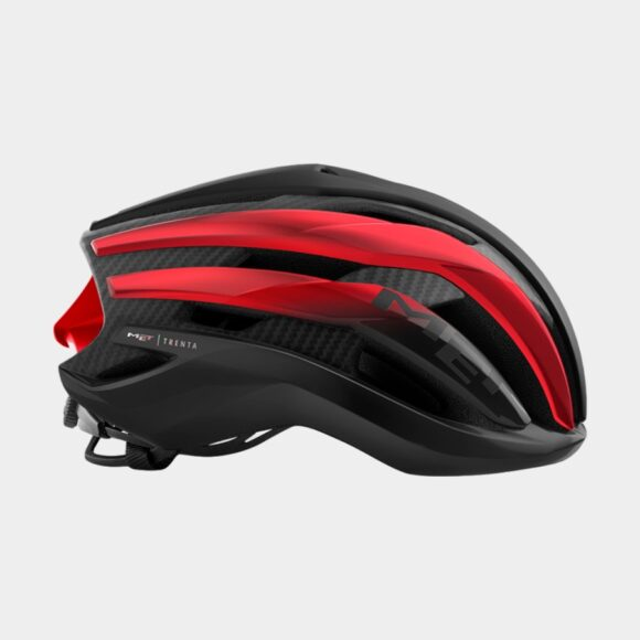 Cykelhjälm MET Trenta 3K Carbon Black Red Metallic/Matt Glossy, Small (52 - 56 cm)