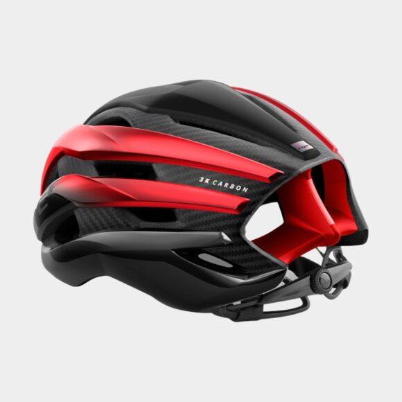 Cykelhjälm MET Trenta 3K Carbon Black Red Metallic/Matt Glossy, Large (58 - 61 cm)