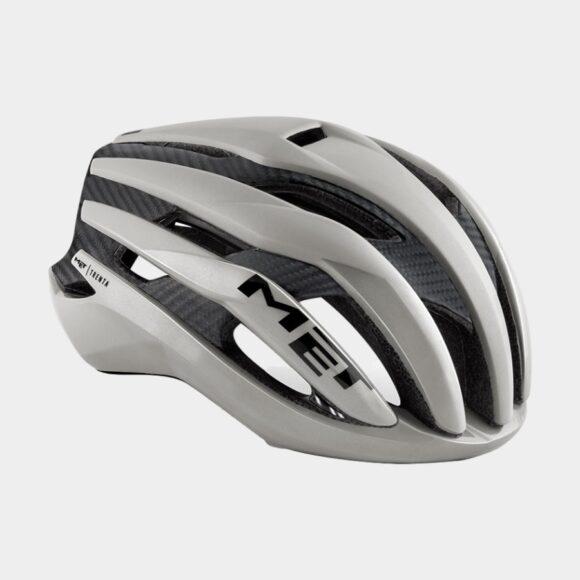 Cykelhjälm MET Trenta 3K Carbon Grey/Matt Glossy, Large (58 - 61 cm)