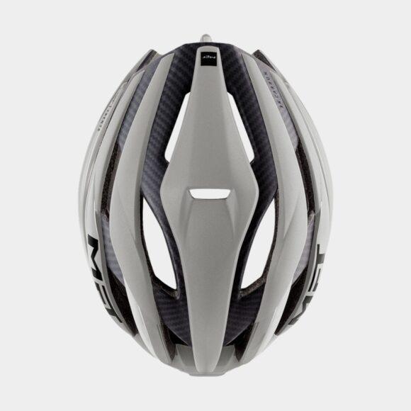 Cykelhjälm MET Trenta 3K Carbon Grey/Matt Glossy, Medium (56 - 58 cm)