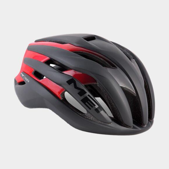 Cykelhjälm MET Trenta Black/Matt Glossy, Small (52 - 56 cm)