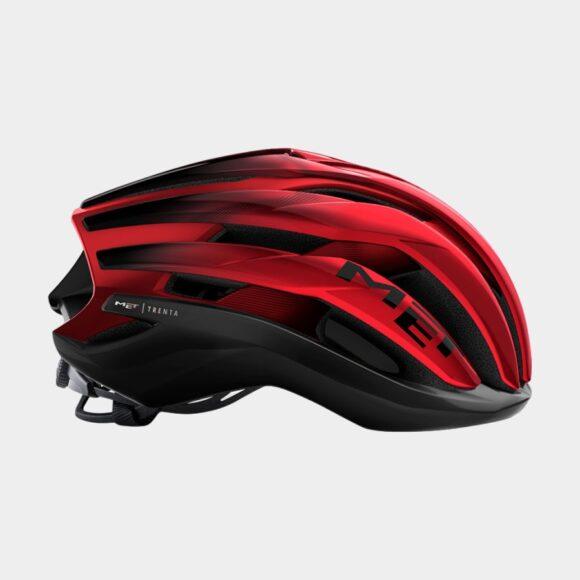 Cykelhjälm MET Trenta MIPS Black Red Metallic/Matt Glossy, Large (58 - 61 cm)