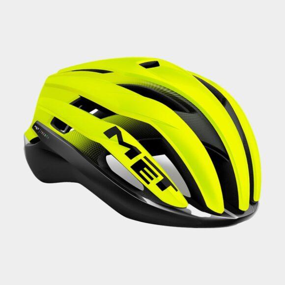 Cykelhjälm MET Trenta MIPS Black Safety Yellow/Matt Glossy, Large (58 - 61 cm)