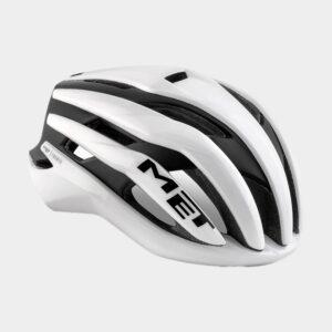 Cykelhjälm MET Trenta MIPS White Black/Matt Glossy, Medium (56 - 58 cm)