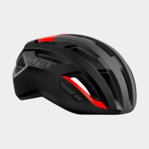 Cykelhjälm MET Vinci MIPS Black Red/Matt, Small (52 - 56 cm)