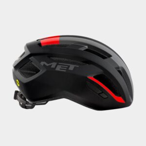 Cykelhjälm MET Vinci MIPS Black Red/Matt, Medium (56 - 58 cm)