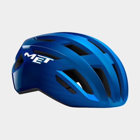 Cykelhjälm MET Vinci MIPS Blue Metallic/Glossy, Small (52 - 56 cm)