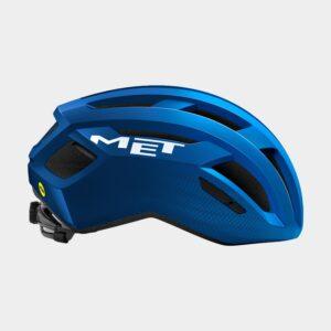 Cykelhjälm MET Vinci MIPS Blue Metallic/Glossy, Large (58 - 61 cm)