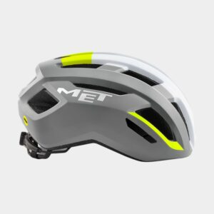 Cykelhjälm MET Vinci MIPS Grey Safety Yellow/Glossy, Large (58 - 61 cm)