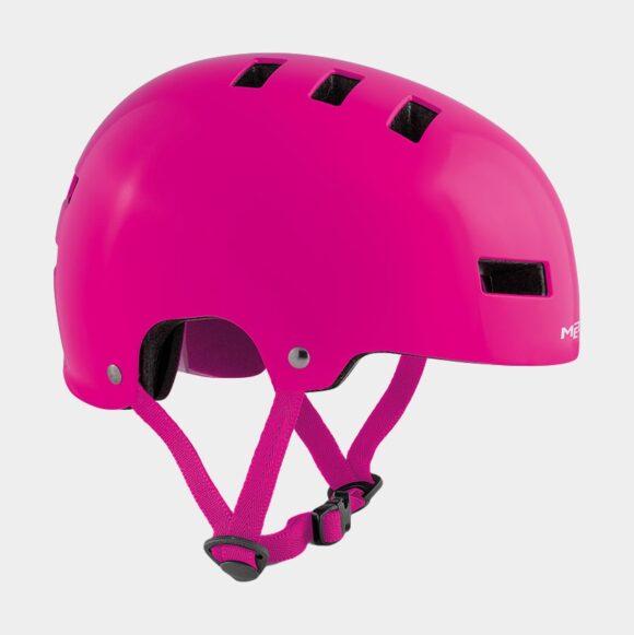 Cykelhjälm MET Yo-Yo Pink/Matt, Small (51 - 55 cm)