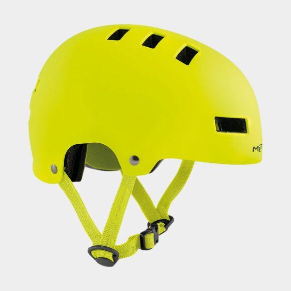 Cykelhjälm MET Yo-Yo Safety Yellow/Matt, Small (51 - 55 cm)
