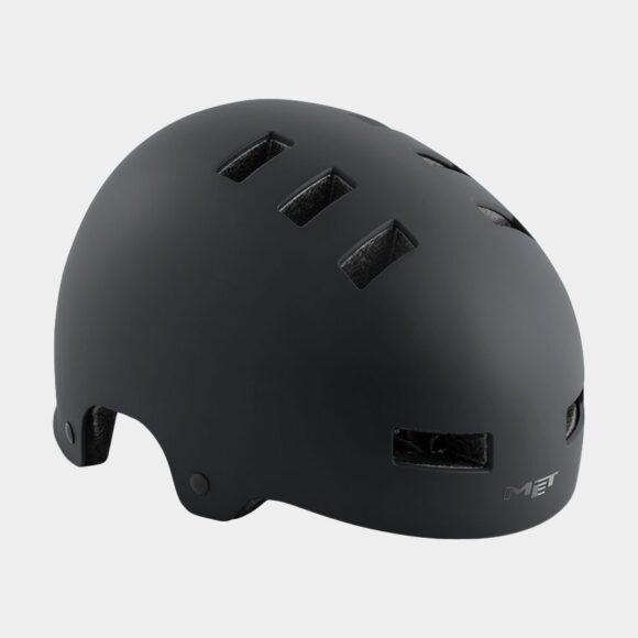Cykelhjälm MET Zone Black/Matt, Small (51 - 55 cm)