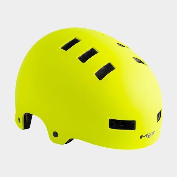 Cykelhjälm MET Zone Safety Yellow/Matt, Small (51 - 55 cm)