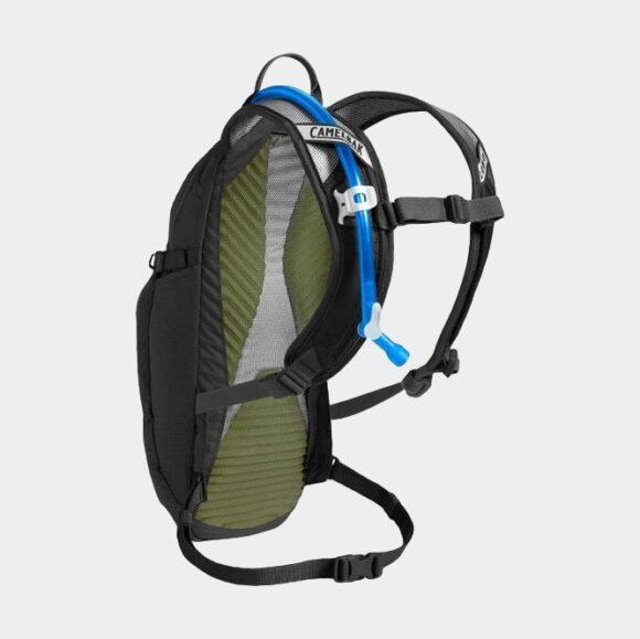 Cykelryggsäck Camelbak Lobo Black, 9 liter + vätskebehållare (3 liter)