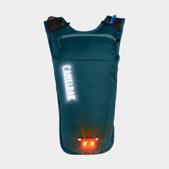 Cykelryggsäck Camelbak Women's Rogue Light Dragonfly Teal/Mineral Blue, 7 liter + vätskebehållare (2 liter)