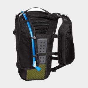 Cykelryggsäck med ryggskydd Camelbak Chase Protector Vest Black, 8 liter + vätskebehållare (2 liter)
