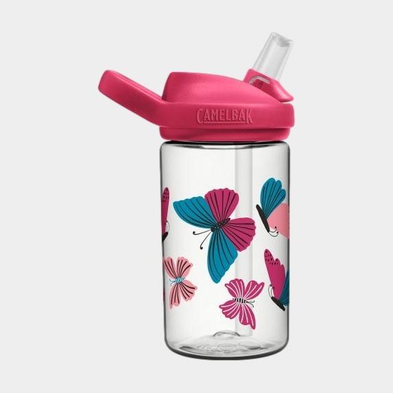 Flaska Camelbak Eddy+ Kids Colorblock Butterflies, 0.4 liter