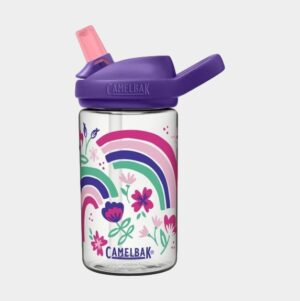 Flaska Camelbak Eddy+ Kids Rainbow Floral, 0.4 liter