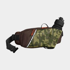 Midjeväska Camelbak Podium Flow Belt Camelflage/Brown Seal, 2 liter + flaska (0.6 liter)