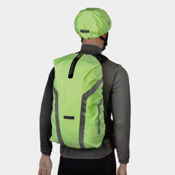 Regnskydd för ryggsäckar XLC Rain Cover Fluo Yellow