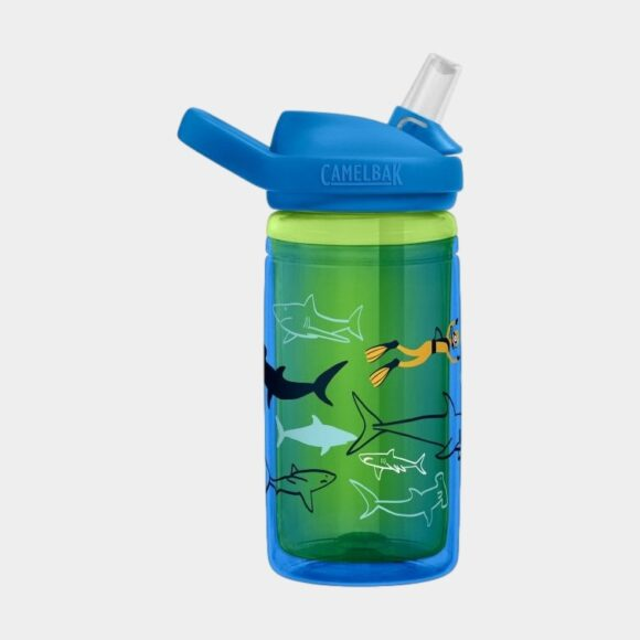 Termosflaska Camelbak Eddy+ Kids Insulated Scuba Sharks, 0.4 liter