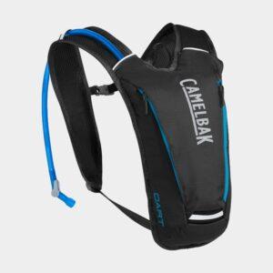 Vätskeryggsäck Camelbak Octane Dart Black/Atomic Blue, 2 liter + vätskebehållare (1.5 liter)