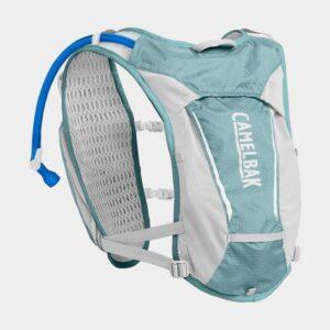 Vätskeryggsäck Camelbak Women's Circuit Vest Aqua Sea/Silver, 5 liter + vätskebehållare (1.5 liter)