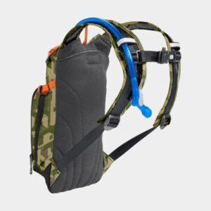 Vätskeryggsäck för barn Camelbak Mini M.U.L.E. Camelflage, 1.5 liter + vätskebehållare (1.5 liter)