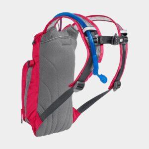 Vätskeryggsäck för barn Camelbak Mini M.U.L.E. Hot Pink/ Purple Stripe, 1.5 liter + vätskebehållare (1.5 liter)