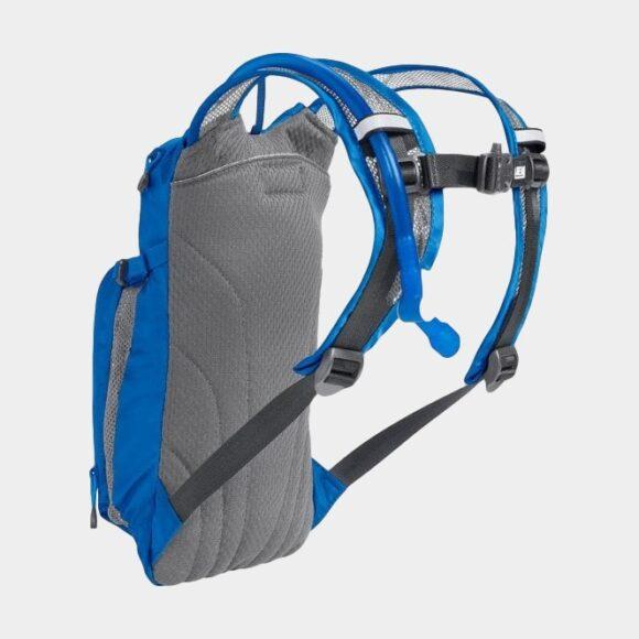 Vätskeryggsäck för barn Camelbak Mini M.U.L.E. Lapis Blue/White Stripe, 1.5 liter + vätskebehållare (1.5 liter)