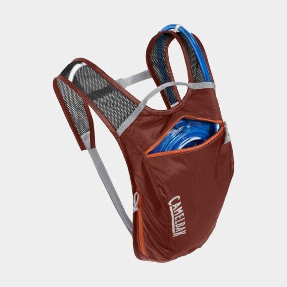 Vätskeryggsäck för cykel Camelbak Hydrobak Light Fired Brick/Koi, 2.5 liter + vätskebehållare (1.5 liter)