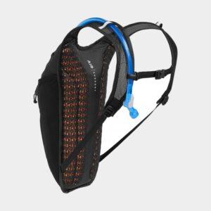 Vätskeryggsäck för cykel Camelbak Rogue Light Black/Silver, 7 liter + vätskebehållare (2 liter)