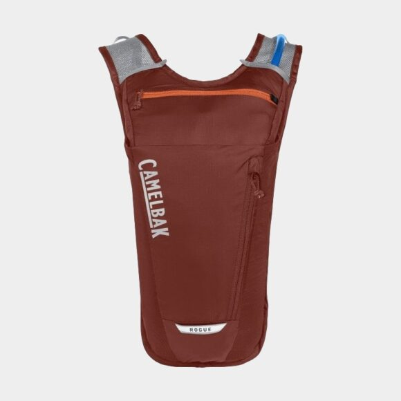 Vätskeryggsäck för cykel Camelbak Rogue Light Fired Brick/Koi, 7 liter + vätskebehållare (2 liter)