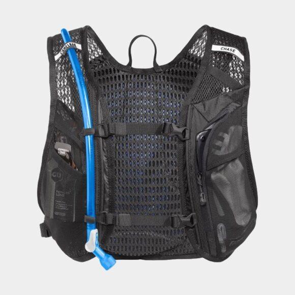 Vätskeryggsäck för cykel Camelbak Women's Chase Bike Vest Black/Mint, 4 liter + vätskebehållare (1.5 liter)