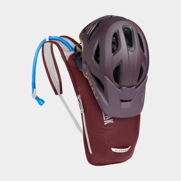 Vätskeryggsäck för cykel Camelbak Women's Hydrobak Light Burgundy/Silver, 2.5 liter + vätskebehållare (1.5 liter)