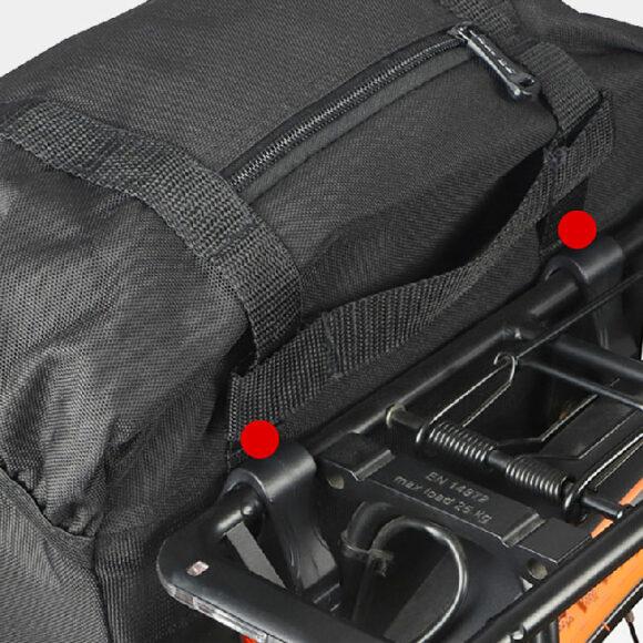 Pakethållarväska Sahoo Travelpak, 13 liter