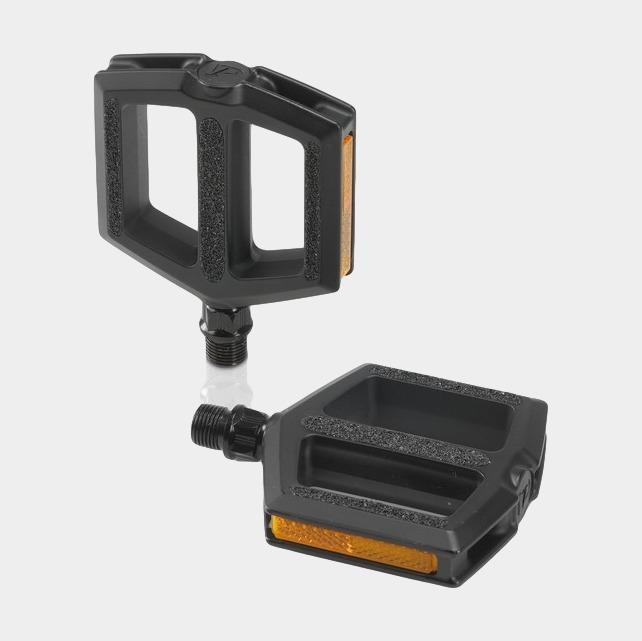 Pedaler XLC PD-C11, 1 par, Standardpedaler, svart, för barncyklar