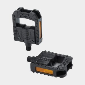 Pedaler XLC PD-F01, 1 par, Standardpedal, svart, vikbar
