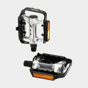 Pedaler XLC PD-M03, 1 par, Standardpedal, svart/silver
