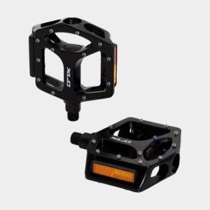 Pedaler XLC PD-S24, 1 par, Kombipedaler, svart, inkl. klossar