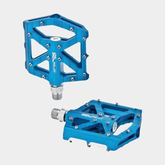 Pedaler XLC PD-M12, 1 par, Plattformspedaler, blå