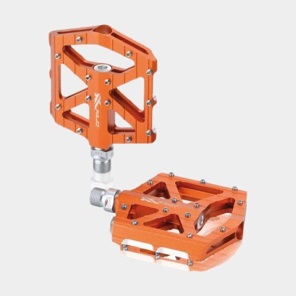 Pedaler XLC PD-M12, 1 par, Plattformspedaler, orange
