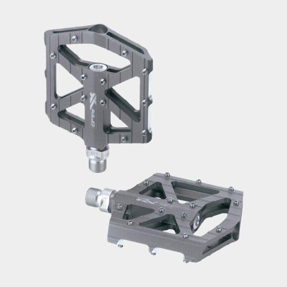 Pedaler XLC PD-M12, 1 par, Plattformspedal, titan