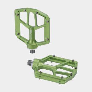Pedaler XLC PD-M14, 1 par, Plattformspedaler, limegrön